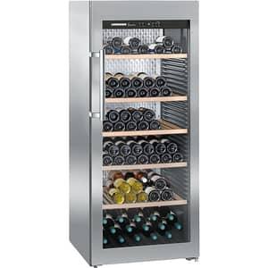 Racitor de vinuri LIEBHERR WKes 4552, PowerCooling, 201 sticle, H 165 cm, Clasa F, Inox