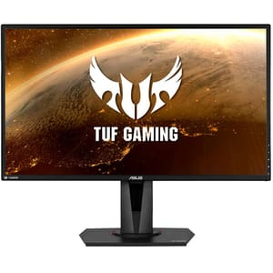 "Monitor Gaming LED TN ASUS TUF VG27BQ, 27"", WQHD, 165Hz, G Sync, negru"