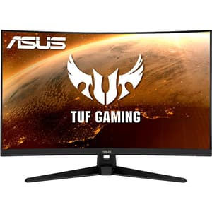 "Monitor Gaming curbat LCD VA ASUS TUF VG328H1B, 31.5"", Full HD, 165Hz, FreeSync, negru"
