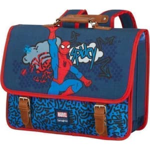 Ghiozdan SAMSONITE Disney Stylies Spider-Man Pop, albastru-rosu