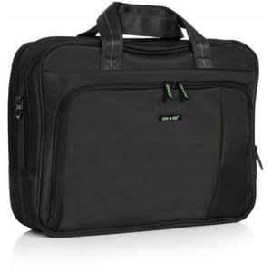 Geanta de laptop LAMONZA Crest, 41cm, negru-verde