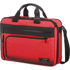 Geanta laptop SAMSONITE CityVibe 2.0 3Way, rosu-negru