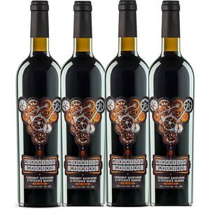 Vin rosu sec Vincon Mirabilis Machina Cabernet Sauvignon, 0.75L, 4 sticle