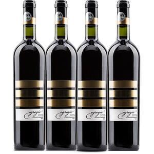 Vin rosu sec Vincon Egregio Feteasca Neagra, 0.75L, 4 sticle