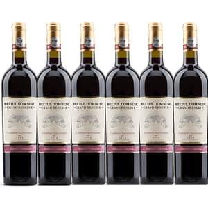 Vin rosu sec Vincon Beciul Domnesc Grand Reserve Cabernet Sauvignon, 0.75L, 6 sticle