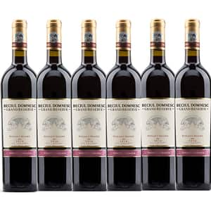 Vin rosu sec Vincon Beciul Domnesc Grand Reserve Feteasca Neagra , 0.75L, 6 sticle