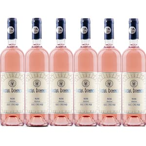 Vin rose demisec Vincon Beciul Domnesc Rose Demisec, 0.75L, 6 sticle