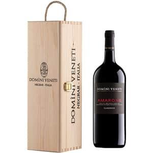 Vin rosu sec Domini Veneti Amarone, 1.5L + Cutie cadou