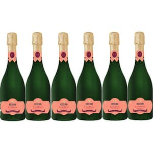 Vin spumant rose extra sec Angelli Cuvee Deluxe Rose, 0.75L, 6 sticle
