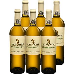 Vin alb sec MaxiMarc Mustoasa de Maderat, 0.75L, 6 sticle