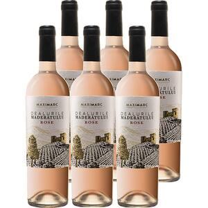 Vin rose sec Dealurile Maderatului rose, 0.75L, 6 sticle