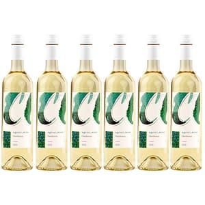 Vin alb sec Crama Agrici Ialoveni Chardonnay alb, 0.75l, 6 sticle
