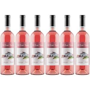 Vin rose sec Crama Mihai Sava Cabernet, 0.75l, 6 sticle