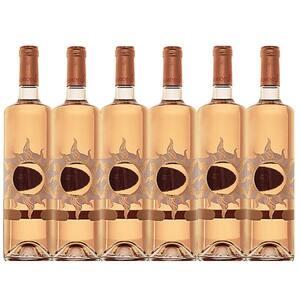 Vin rose sec Hermeziu Feteasca Neagra, 0.75L, 6 sticle