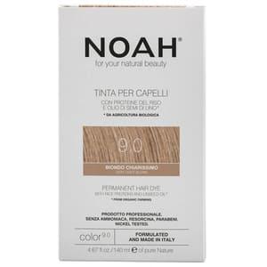 Vopsea de par NOAH, 9.0 Blond foarte deschis, 140ml