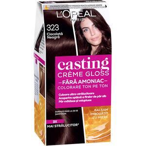 Vopsea de par L'OREAL Paris Casting Creme Gloss, 323 Choco, 180ml