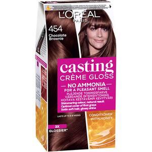Vopsea de par L'OREAL Paris Casting Creme Gloss, 454 Brownie, 180ml