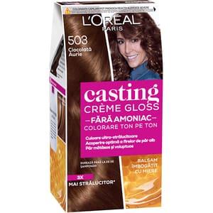 Vopsea de par L'OREAL Paris Casting Creme Gloss, 503 Gold Choco, 180ml