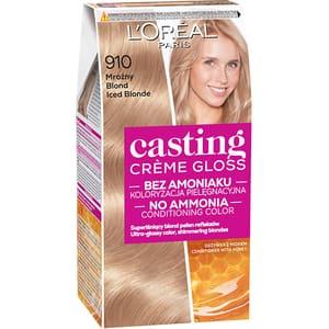 Vopsea de par L'OREAL Paris Casting Creme Gloss, 910 Blond Cenusiu, 180ml