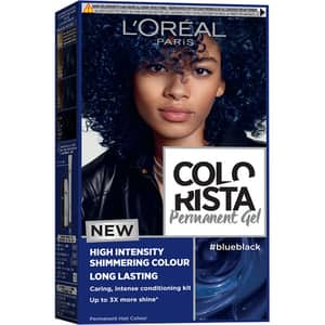 Vopsea de par L'OREAL Paris Colorista, Blue Black, 204ml