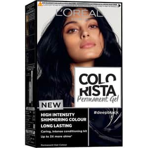 Vopsea de par L'OREAL Paris Colorista, Deep Black, 204ml