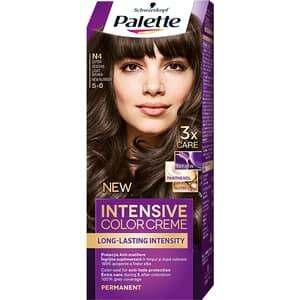 Vopsea de par PALETTE Intensive Color Creme, N4 Saten Deschis, 110ml