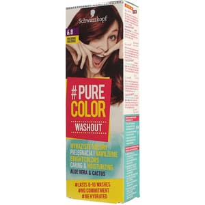 Vopsea de par SCHWARZKOPF Pure Color Washout, 6.8 Pink Brownie, 60ml