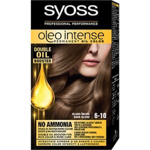 Vopsea de par SYOSS Color Oleo, 6-10 Blond Inchis, 115ml