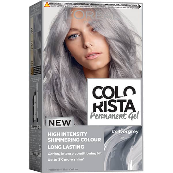 Vopsea de par L'OREAL Paris Colorista, SILVER GREY, 204ml