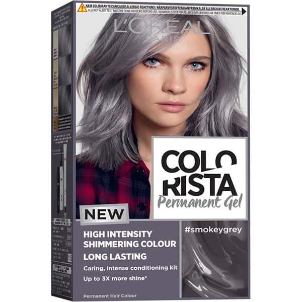 Vopsea de par L'OREAL Paris Colorista, SMOKEY GREY, 204ml