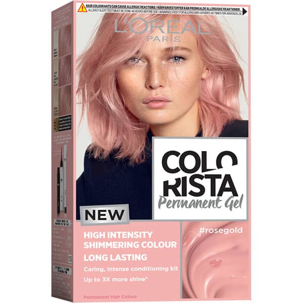 Vopsea de par L'OREAL Paris Colorista, Rose Gold, 204ml