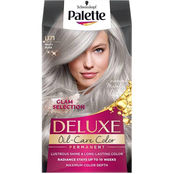 Vopsea de par blond palette