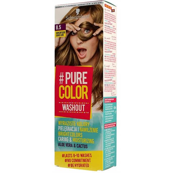Vopsea de par SCHWARZKOPF Pure Color Washout, 8.5 Cramel Blond, 60ml