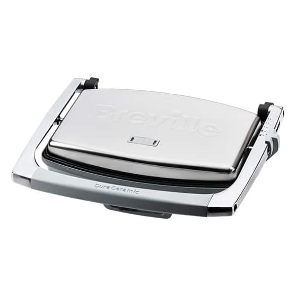 Prajitor de sandwich-uri BREVILLE Press DuraCeramic VST071X-01, 1000W, gri