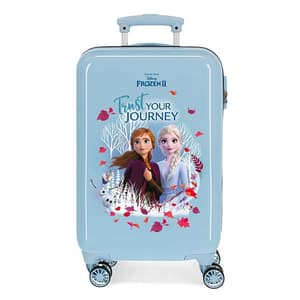 Troler copii DISNEY Frozen Trust Your Journey 25414.61, 55 cm, albastru