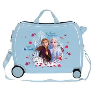 Troler copii DISNEY Frozen Trust Your Journey 25498.61, 50 cm, albastru