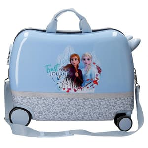 Troler copii DISNEY Frozen Destiny Awaits 25898.62, 50 cm, albastru