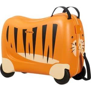 Troler copii SAMSONITE Dream Rider Tigru T, 37 cm, portocaliu-negru