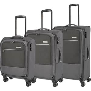 Set trolere TRAVELITE Arona SET90249-04, 55-66-77 cm, antracit