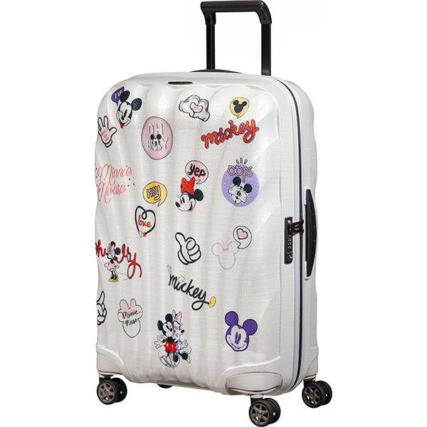 Troler SAMSONITE Spinner C-Lite Disney Minnie/Mickey Abtibild, 69 cm, multicolor