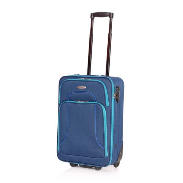 Troler LAMONZA Vision 42 cm, Albastru