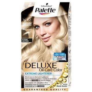 Vopsea de par PALETTE Deluxe, LX9 Blond Platinat Anti-ingalbenire, 115ml