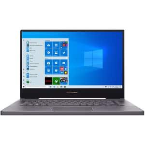 """Laptop ASUS ProArt StudioBook Pro 15 W500G5T-HC012R, Intel Core i7-9750H pana la 4.5GHz, 15.6"""" 4K UHD, 48GB, SSD 1TB, NVIDIA Quadro RTX 5000 Max Q 16GB, Windows 10 Pro, gri celest"""