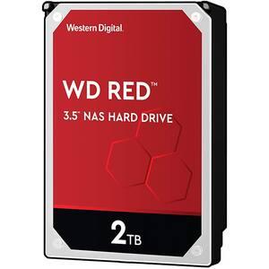 Hard Disk NAS desktop WD Red, 2TB, 5400 RPM, SATA3, 256MB, WD20EFAX