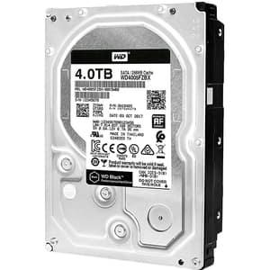 Hard Disk desktop WD Black, 4TB, 7200 RPM, SATA3, 256MB, WD4005FZBX