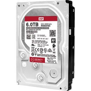 Hard Disk desktop WD Red Pro, 6TB, 7200 RPM, SATA3, 256MB, WD6003FFBX