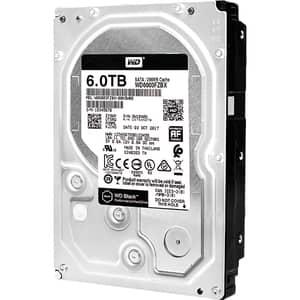 Hard Disk desktop WD Black, 6TB, 7200 RPM, SATA3, 256MB, WD6003FZBX