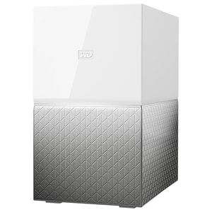 Network Attached Storage WD My Cloud Home Duo WDBMUT0060JWT, 6TB, alb-argintiu