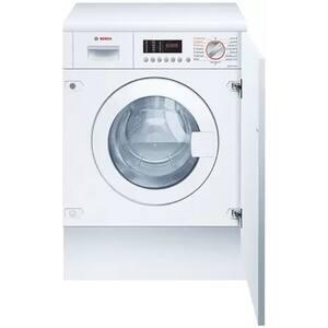 Masina de spalat rufe incorporabila cu uscator BOSCH WKD28542EU, 7/4 kg, 1400rpm, Clasa B, alb