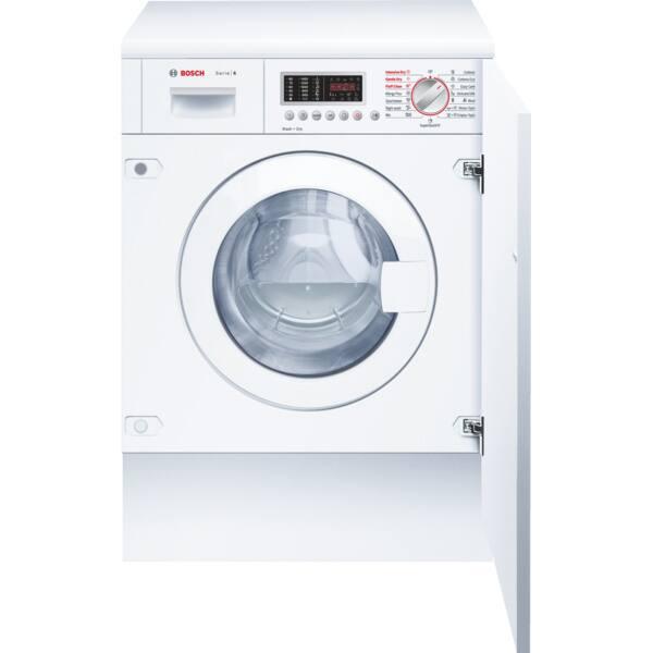 Masina de spalat rufe incorporabila cu uscator BOSCH WKD28541EU, 7/4kg, 1400rpm, Clasa B, alb